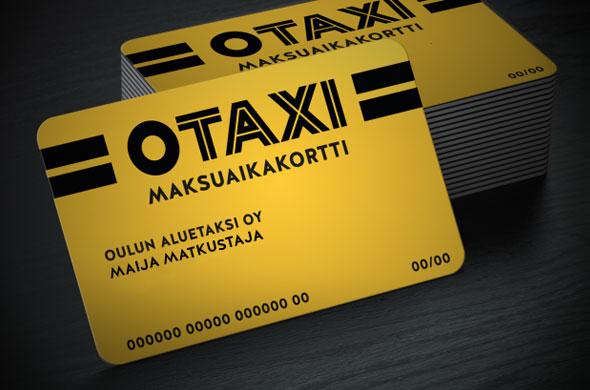 Otaxi taksikortti